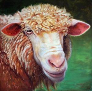 'DON'T BAATHER ME' Carol Landry sheep