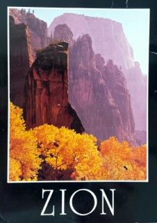 Zion postcard